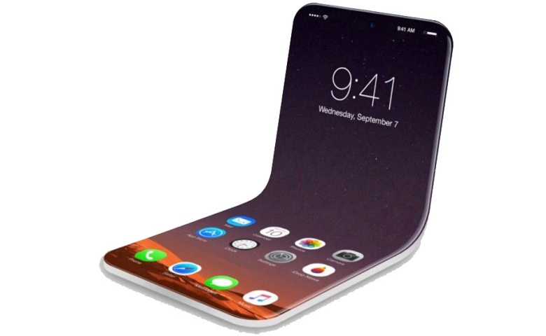 Foldable iPhone With Stylus Support